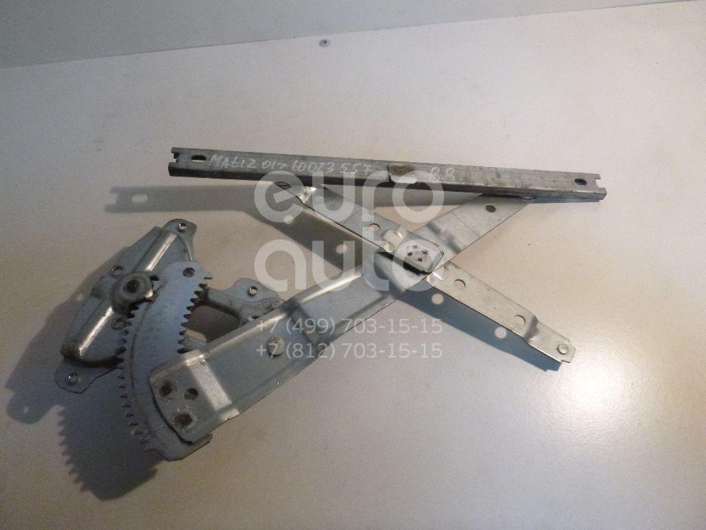 Стеклоподъемник механ. задний правый для Daewoo Matiz 2001>;Matiz (KLYA) 1998> - Фото №1