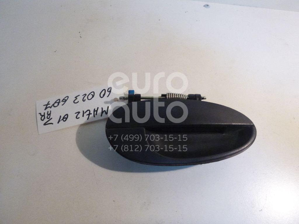 Ручка двери задней наружная правая для Daewoo Matiz 1998-2015 - Фото №1