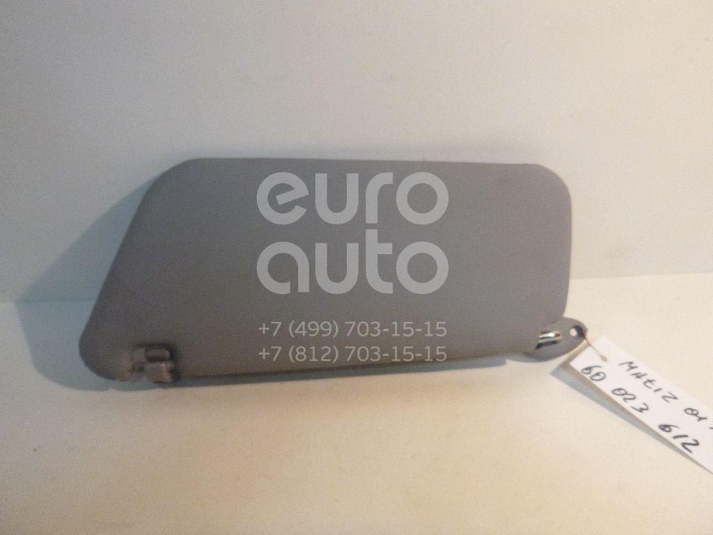 Козырек солнцезащитный (внутри) для Daewoo Matiz (M100/M150) 1998-2015 - Фото №1