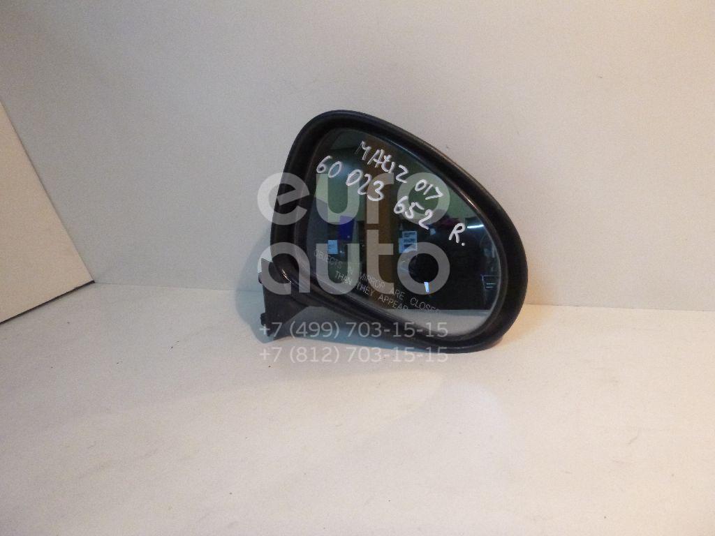 Зеркало правое механическое для Daewoo Matiz (M100/M150) 1998-2015 - Фото №1