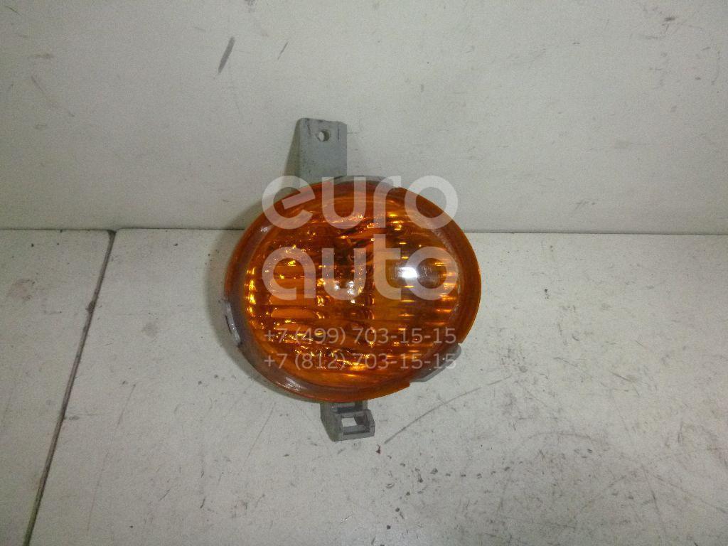 Указатель поворота в бампер правый желтый для Daewoo Matiz 2001>;Matiz (KLYA) 1998> - Фото №1