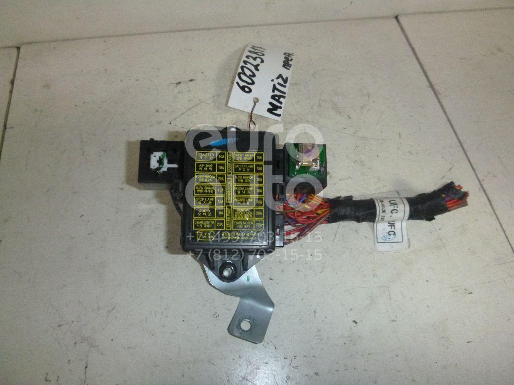 Блок предохранителей для Daewoo Matiz 2001> - Фото №1