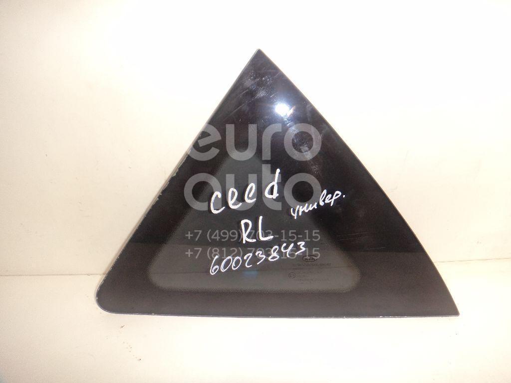 Стекло кузовное глухое левое для Kia Ceed 2007- 2012 - Фото №1