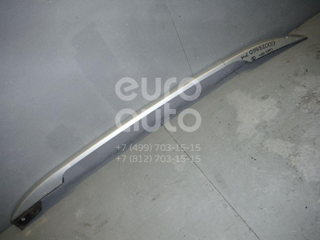 Рейлинг правый (планка на крышу) для Kia Ceed 2007- 2012 - Фото №1