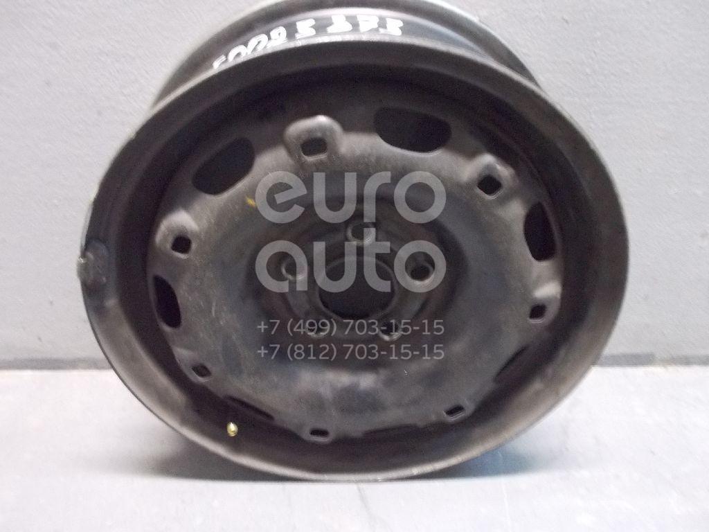 Диск колесный железо для VW,Skoda,Seat Polo 2001-2009;Golf IV/Bora 1997-2005;Fabia 1999-2006;Ibiza V 2008>;Fabia 2007-2015;Polo (Sed RUS) 2011> - Фото №1