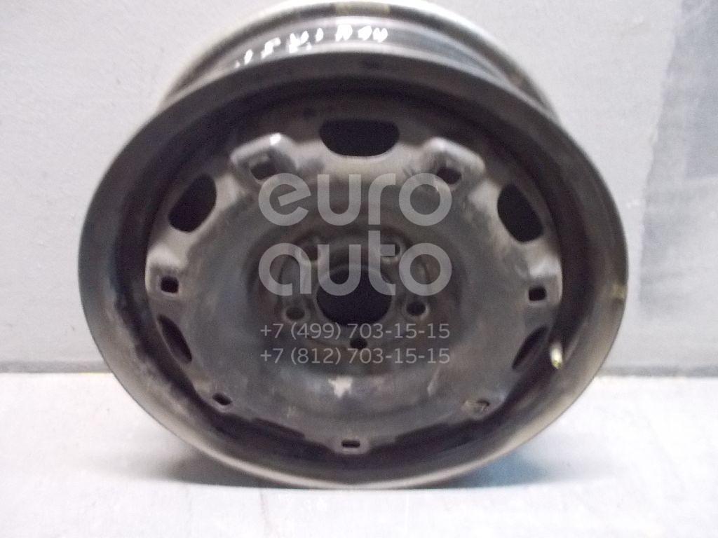 Диск колесный железо для VW Polo 2001-2009;Golf IV/Bora 1997-2005;Fabia 1999-2006;Fabia 2007-2015;Polo (Sed RUS) 2011> - Фото №1