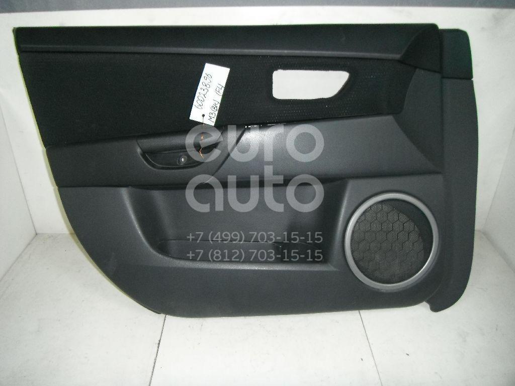 Обшивка двери передней левой для Mazda Mazda 3 (BK) 2002-2009 - Фото №1