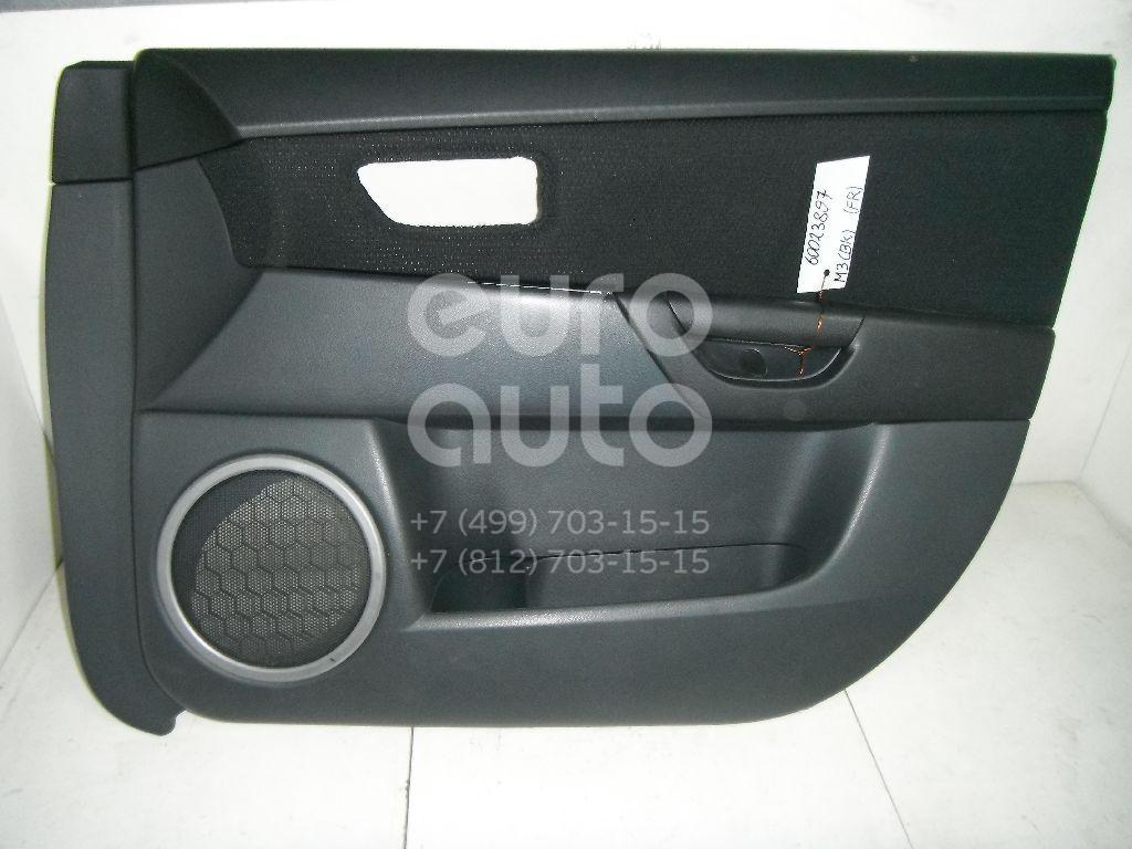 Обшивка двери передней правой для Mazda Mazda 3 (BK) 2002-2009 - Фото №1