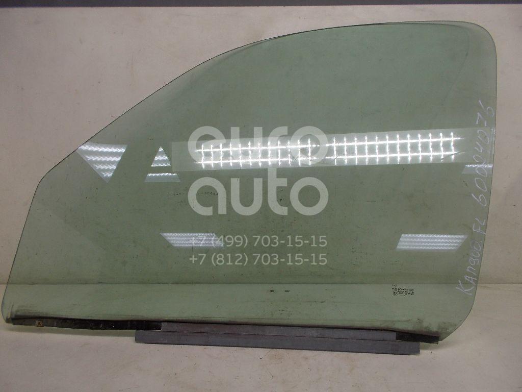 Стекло двери передней левой для Renault Kangoo 2003-2008 - Фото №1