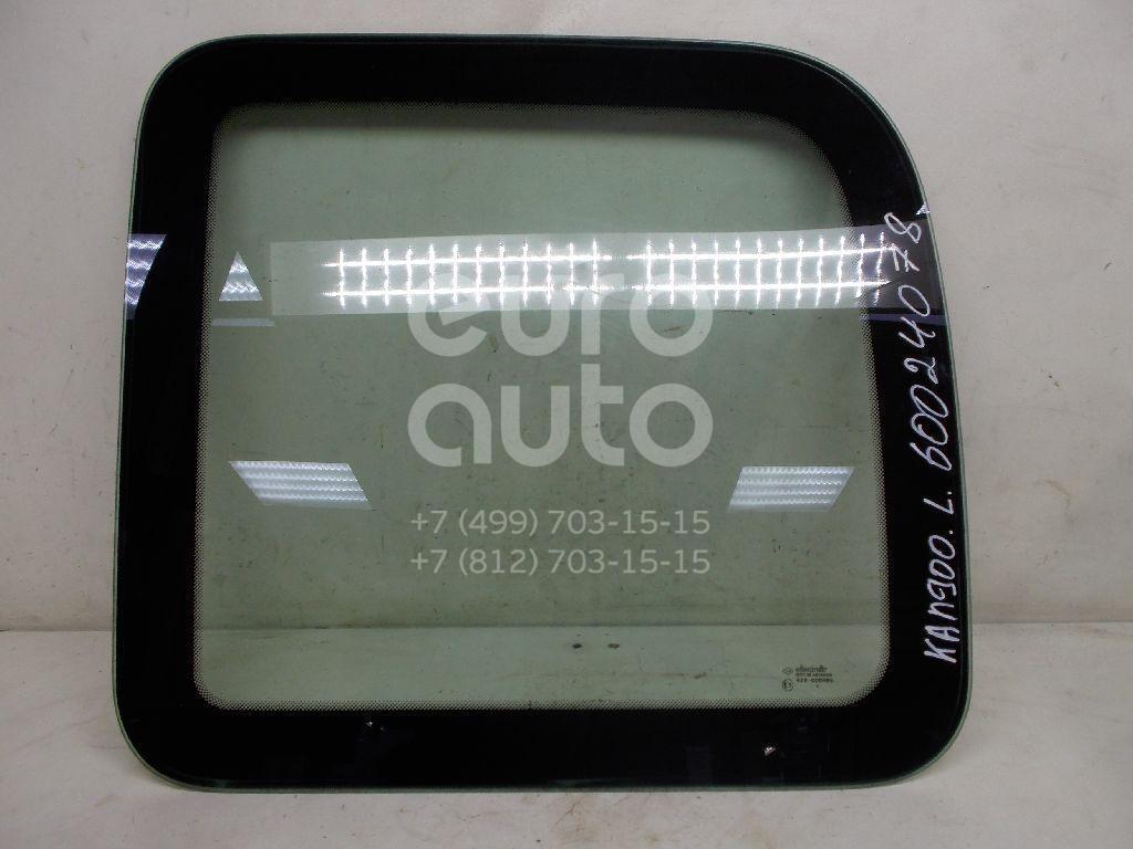 Стекло кузовное глухое левое для Renault Kangoo 2003-2007 - Фото №1