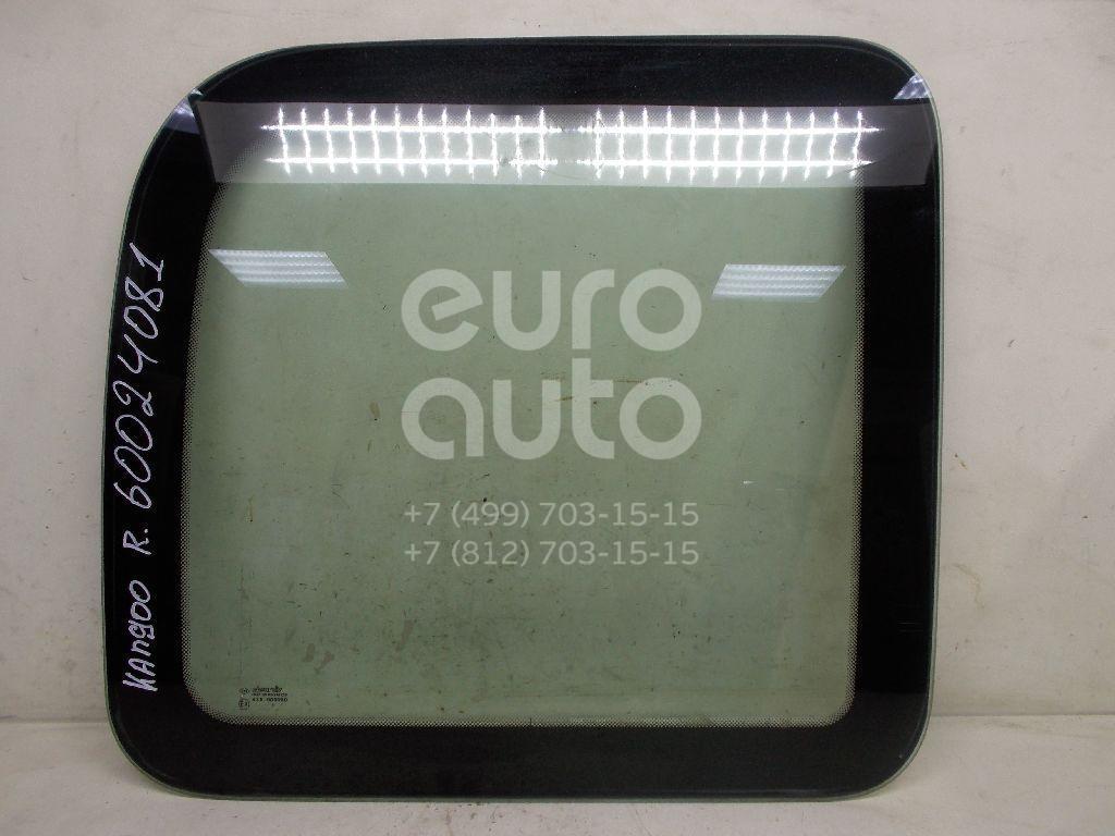 Стекло кузовное глухое правое для Renault Kangoo 2003-2007 - Фото №1