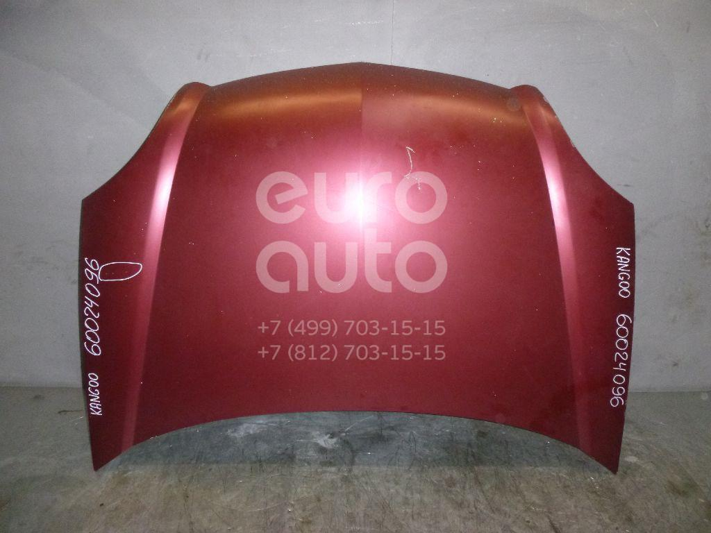 Капот для Renault Kangoo 2003-2007 - Фото №1