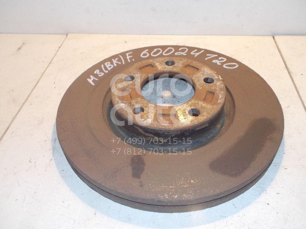 Диск тормозной передний вентилируемый для Mazda Mazda 3 (BK) 2002-2009;Mazda 5 (CR) 2005-2010;Mazda 3 (BL) 2009-2013;Mazda 5 (CW) 2010-2016 - Фото №1