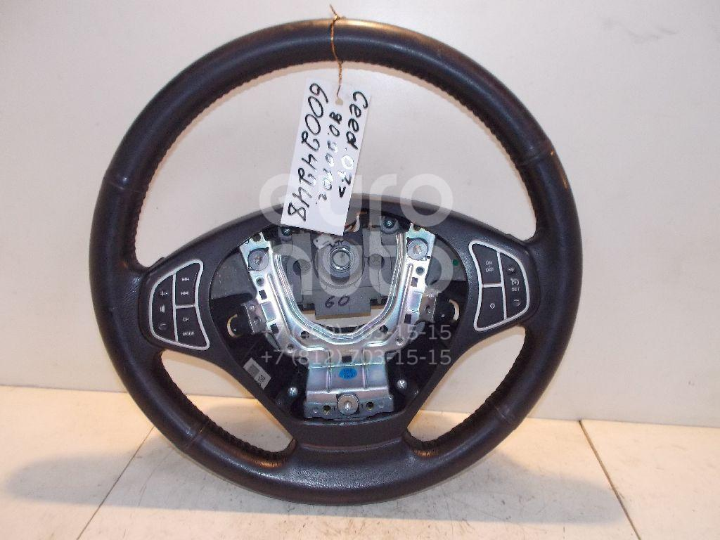 Рулевое колесо для AIR BAG (без AIR BAG) для Kia Ceed 2007- 2012 - Фото №1