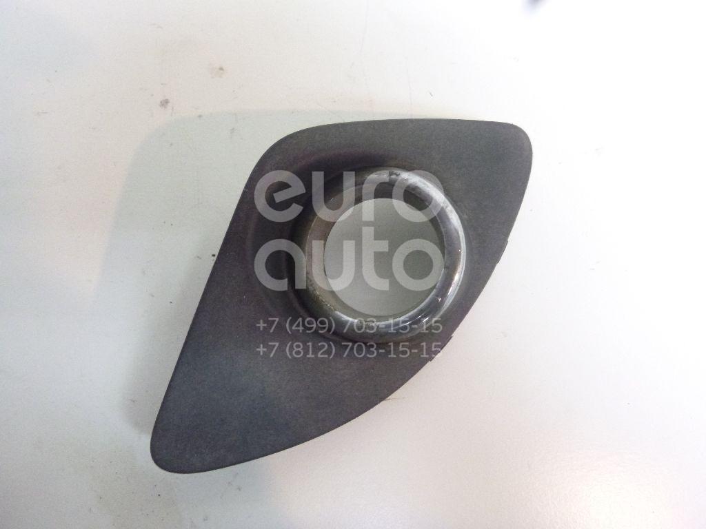 Решетка в бампер левая для Kia Ceed 2007-2012 - Фото №1