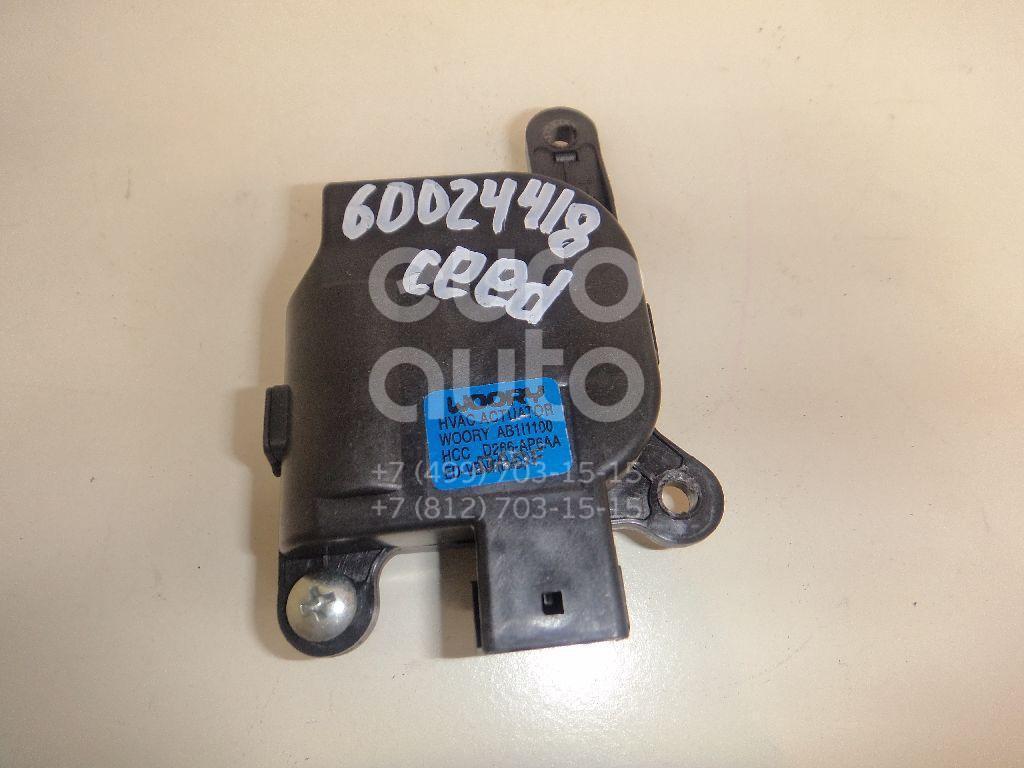 Моторчик заслонки отопителя для Kia Ceed 2007- 2012 - Фото №1