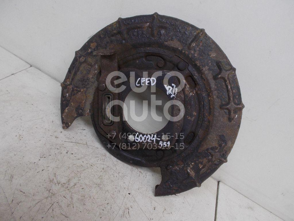 Щит опорный задний левый для Kia,Hyundai Ceed 2007-2012;i30 2007-2012 - Фото №1