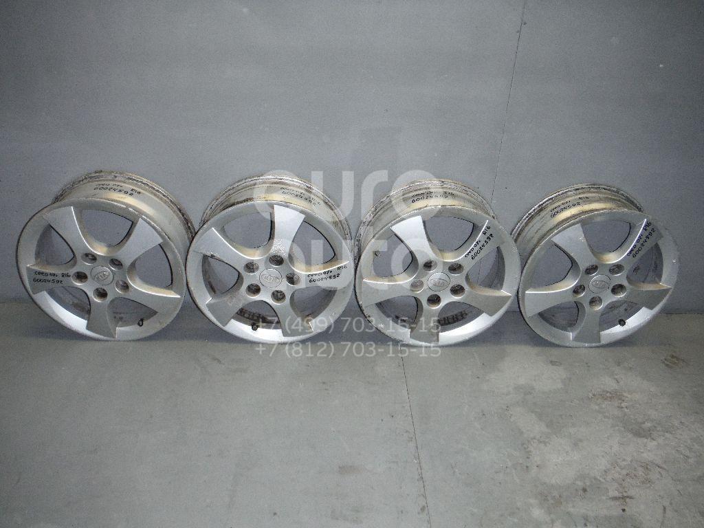 Диски колесные легкосплавные (к-кт) для Kia Ceed 2007- 2012 - Фото №1