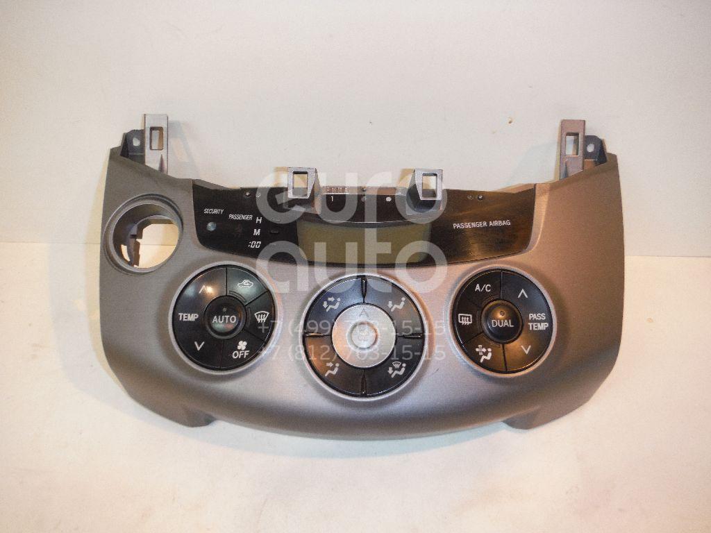 Блок управления климатической установкой для Toyota RAV 4 2006-2013 - Фото №1