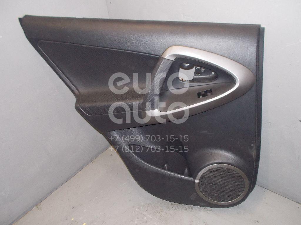 Обшивка двери задней левой для Toyota RAV 4 2006-2013 - Фото №1