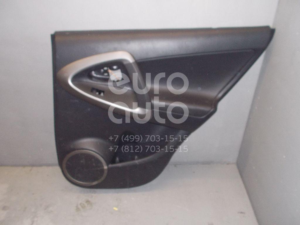 Обшивка двери задней правой для Toyota RAV 4 2006-2013 - Фото №1