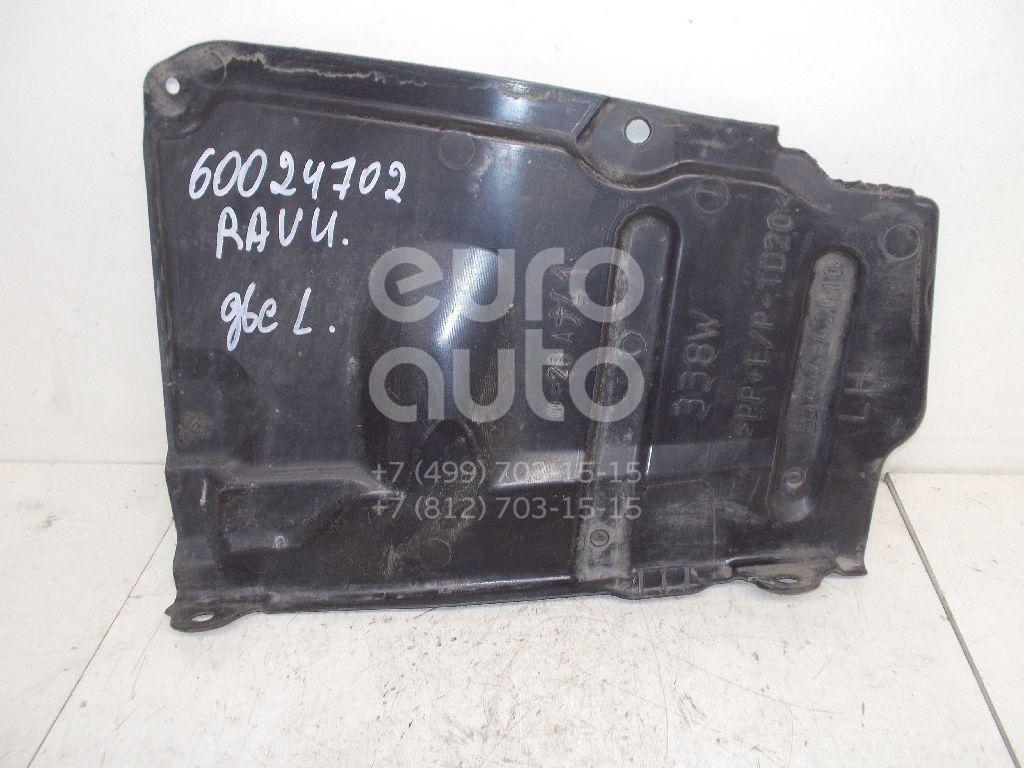 Пыльник двигателя боковой левый для Toyota RAV 4 2006-2013 - Фото №1