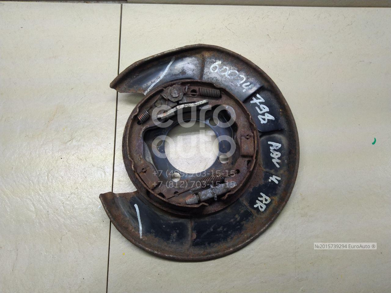 Щит опорный задний правый для Toyota RAV 4 2006-2013;RAV 4 2013> - Фото №1