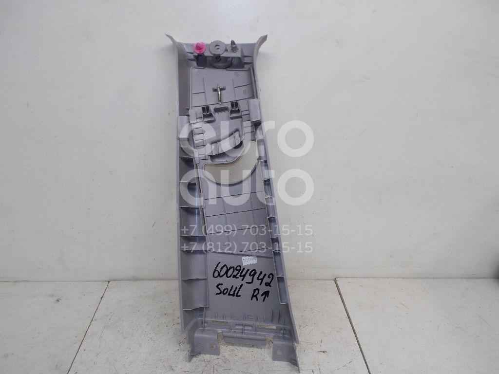 Обшивка стойки для Kia Soul 2009-2014 - Фото №1