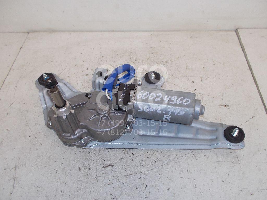 Моторчик стеклоочистителя задний для Kia Soul 2009-2014 - Фото №1