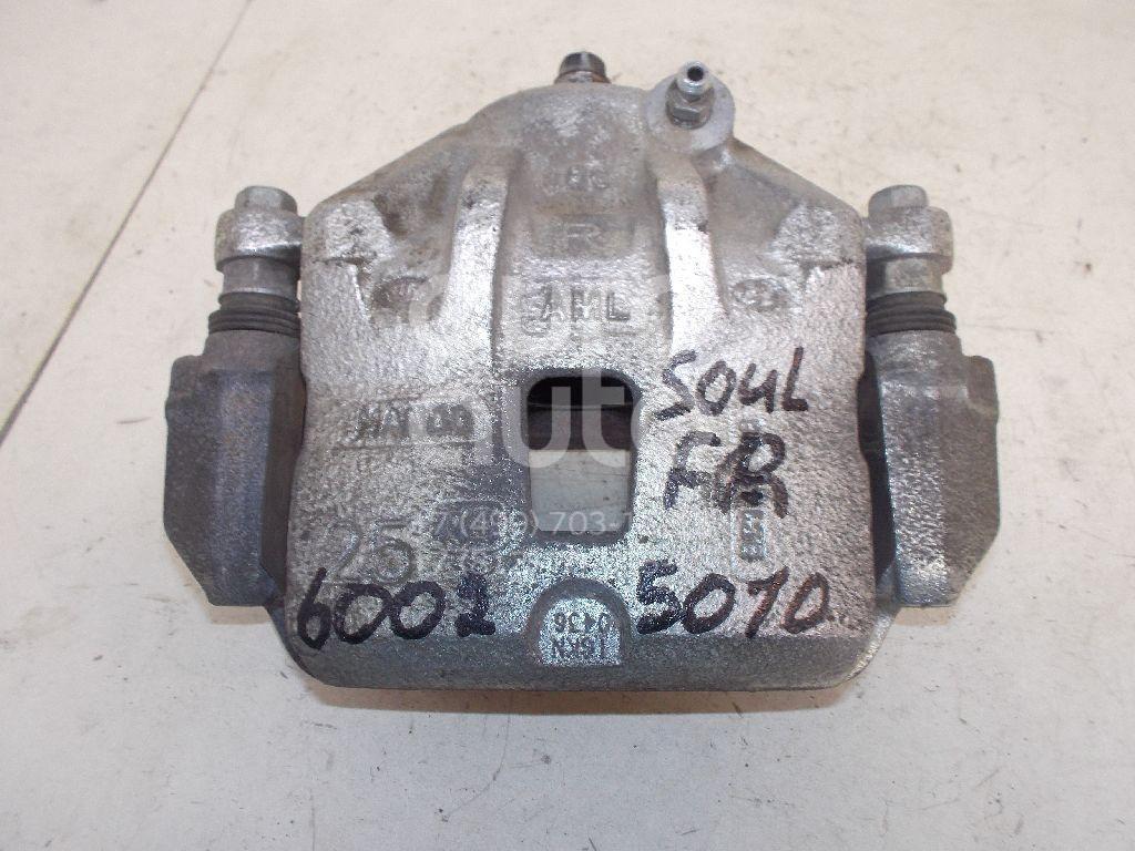 Суппорт передний правый для Kia Soul 2009-2014 - Фото №1