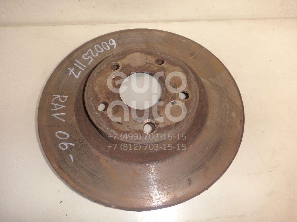 Диск тормозной передний вентилируемый для Toyota,Lexus RAV 4 2006-2013;Camry V40 2006-2011;IS 250/350 2005-2013;Camry V50 2011>;ES (SV40) 2006-2012;RAV 4 2013>;ES 2012> - Фото №1