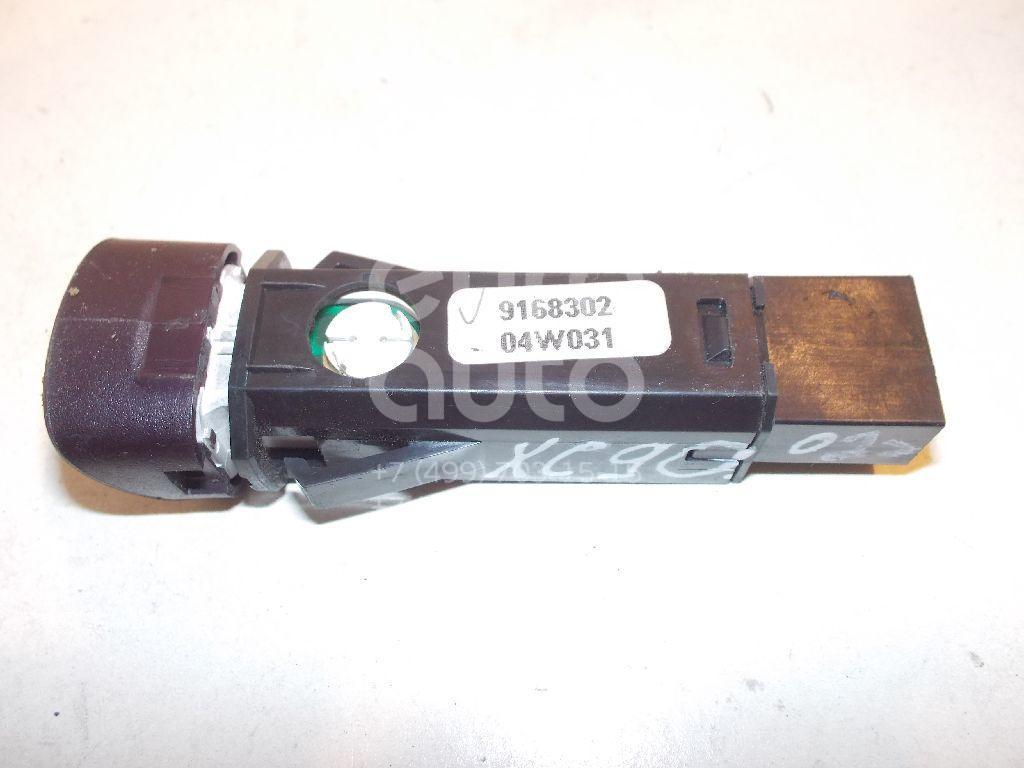 Кнопка аварийной сигнализации для Volvo XC90 2002-2015;S80 1998-2006 - Фото №1