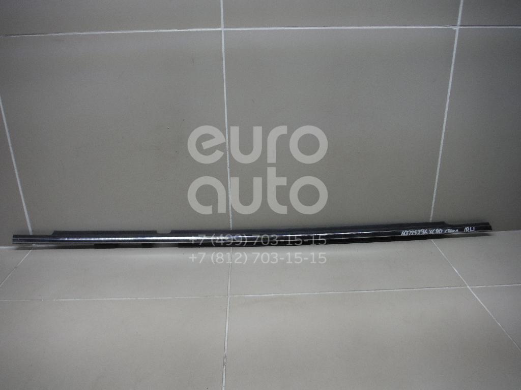 Накладка стекла заднего левого для Volvo XC90 2002-2015 - Фото №1