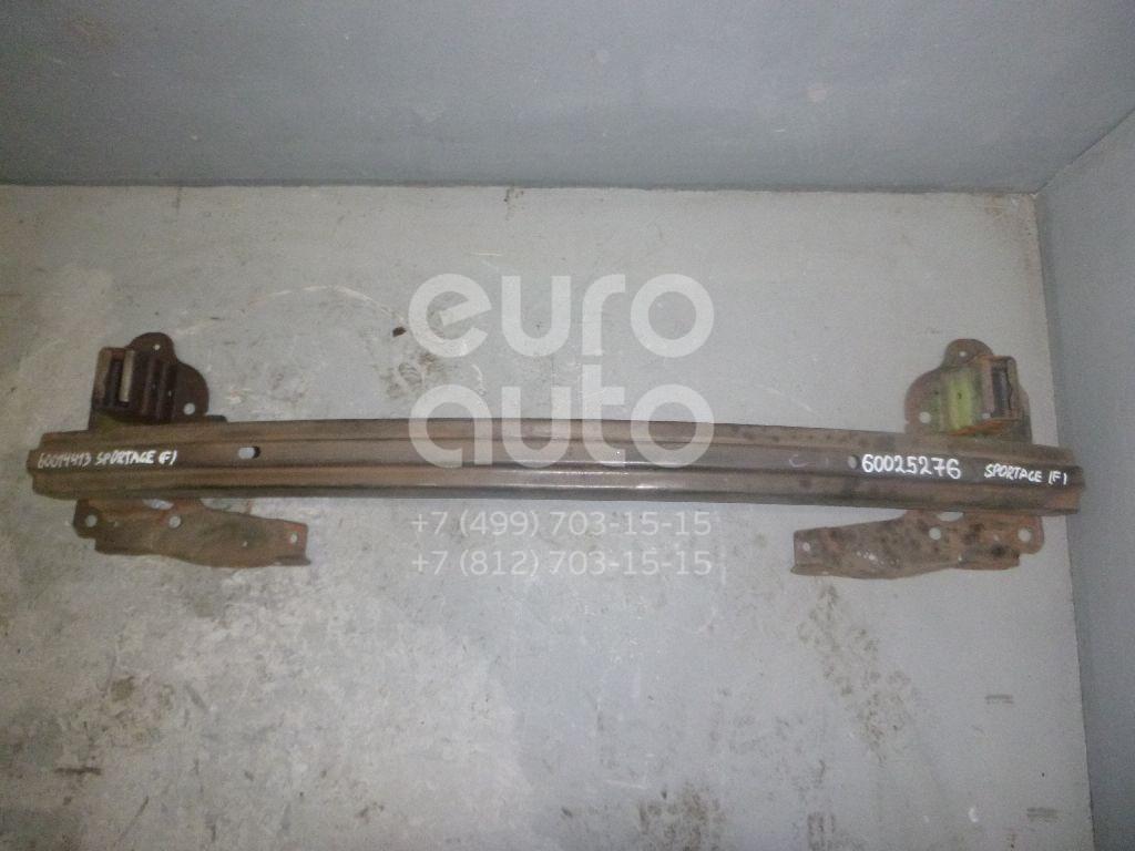 Усилитель переднего бампера для Kia Sportage 2004-2010 - Фото №1
