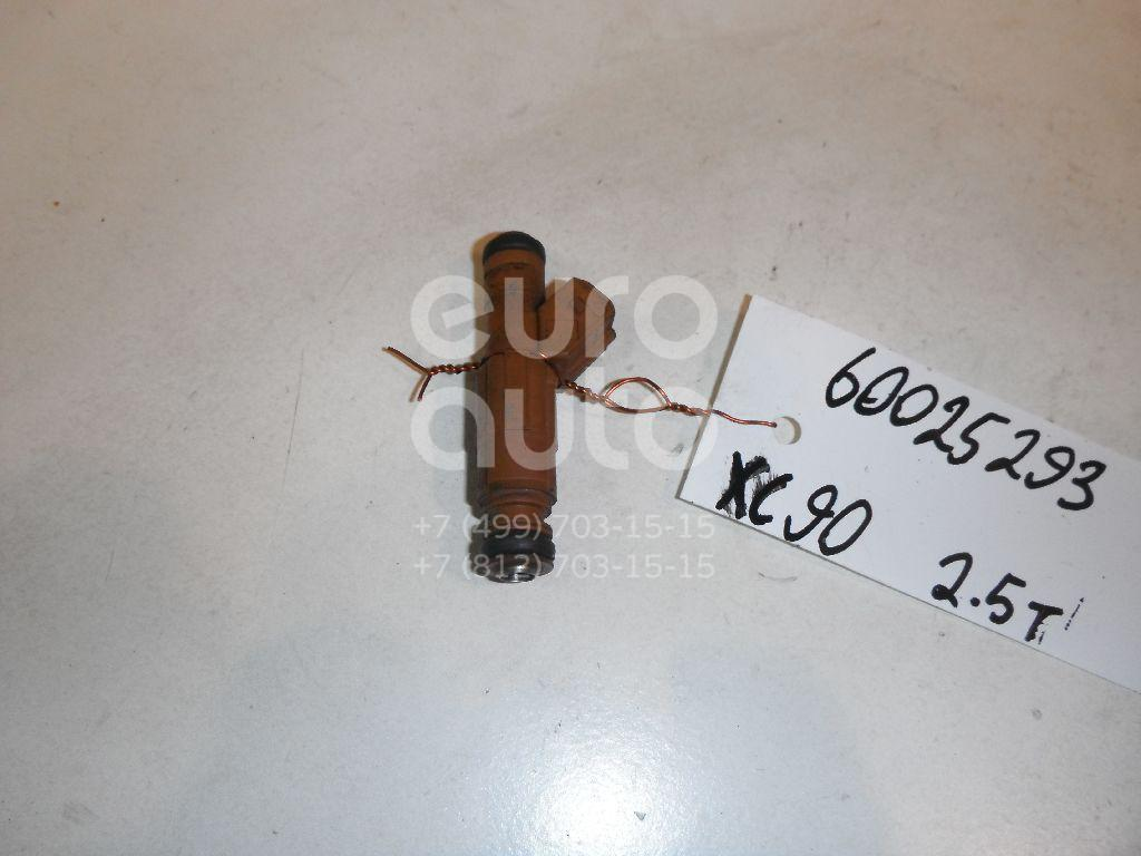 Форсунка инжекторная электрическая для Volvo XC90 2002-2015;V70 2001-2006;XC70 Cross Country 2000-2006;S80 1998-2006;S60 2000-2009 - Фото №1