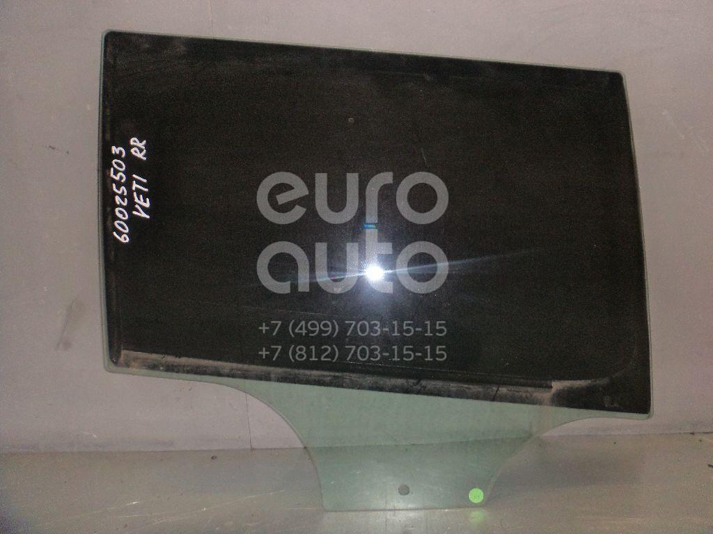Стекло двери задней правой для Skoda Yeti 2009> - Фото №1