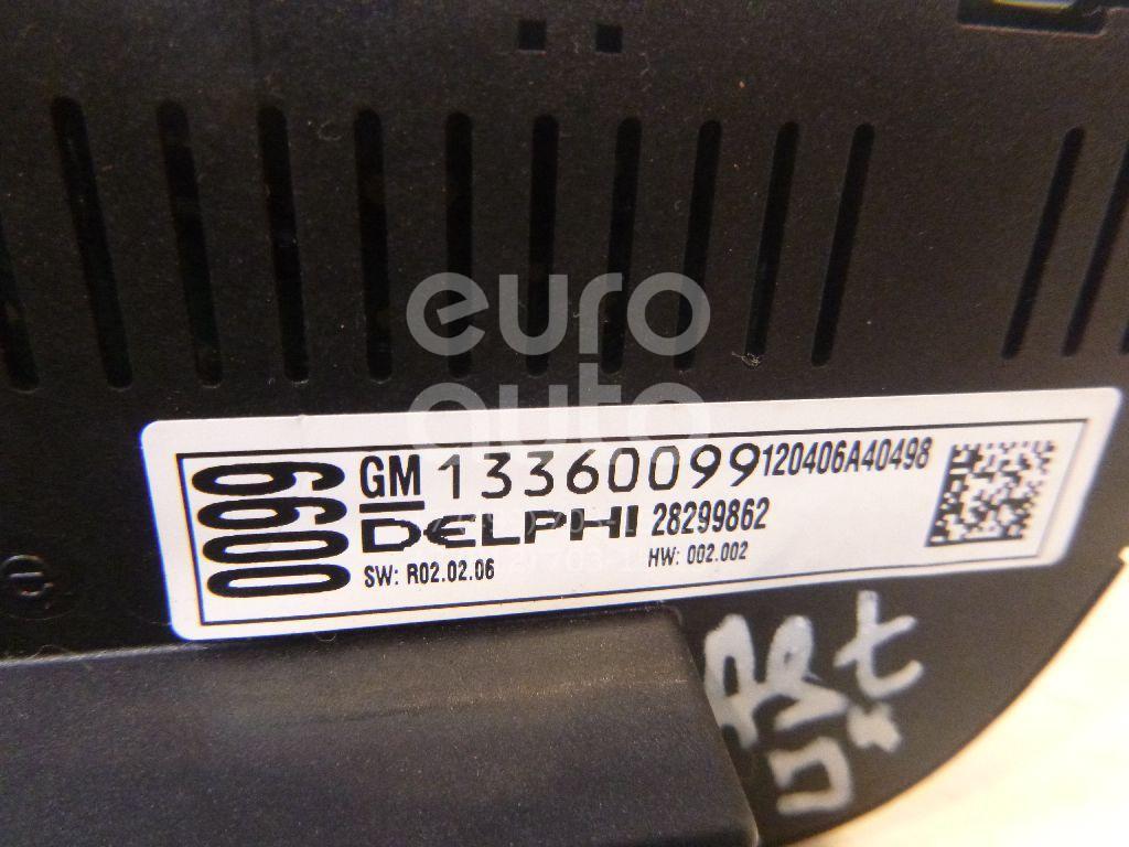 Блок управления климатической установкой для Opel Astra J 2010>;Meriva B 2010>;Cascada 2013> - Фото №1