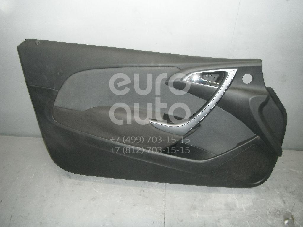 Обшивка двери передней левой для Opel Astra J 2010> - Фото №1