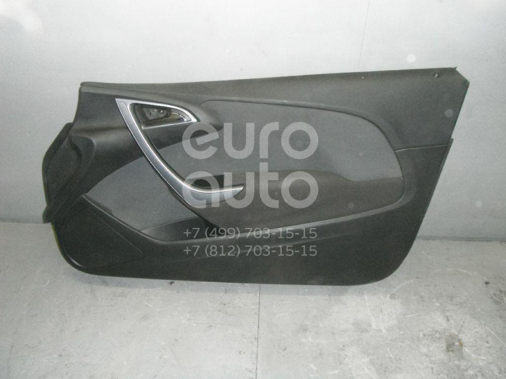 Обшивка двери передней правой для Opel Astra J 2010> - Фото №1