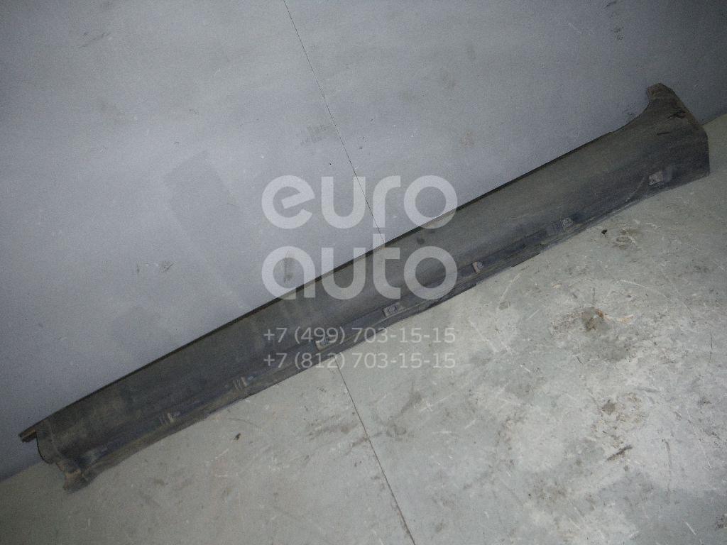 Накладка на порог (наружная) для Volvo XC90 2002-2015 - Фото №1