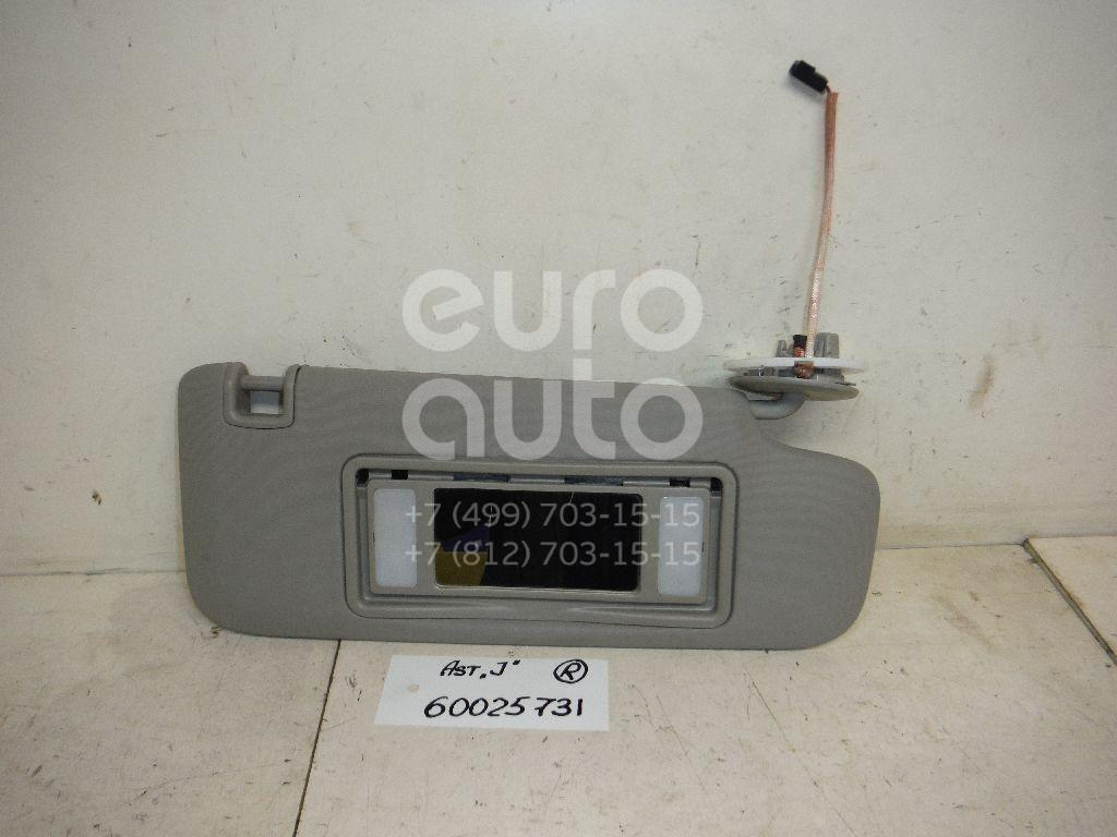Козырек солнцезащитный (внутри) для Opel Astra J 2010> - Фото №1