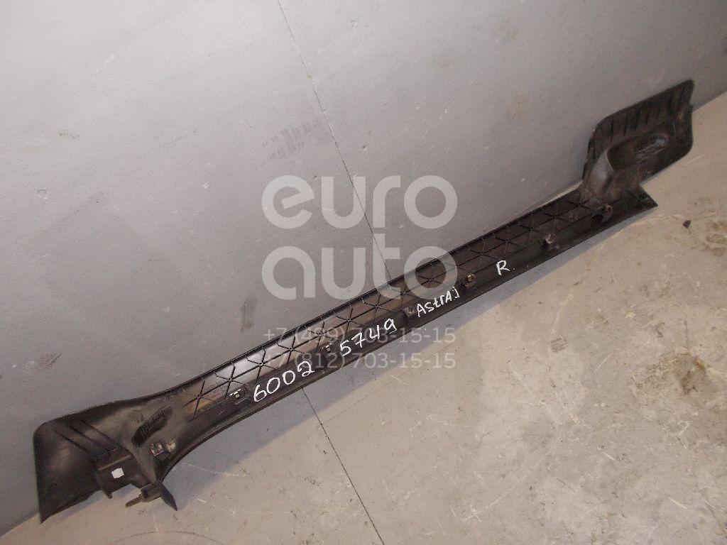Накладка порога (внутренняя) для Opel Astra J 2010> - Фото №1