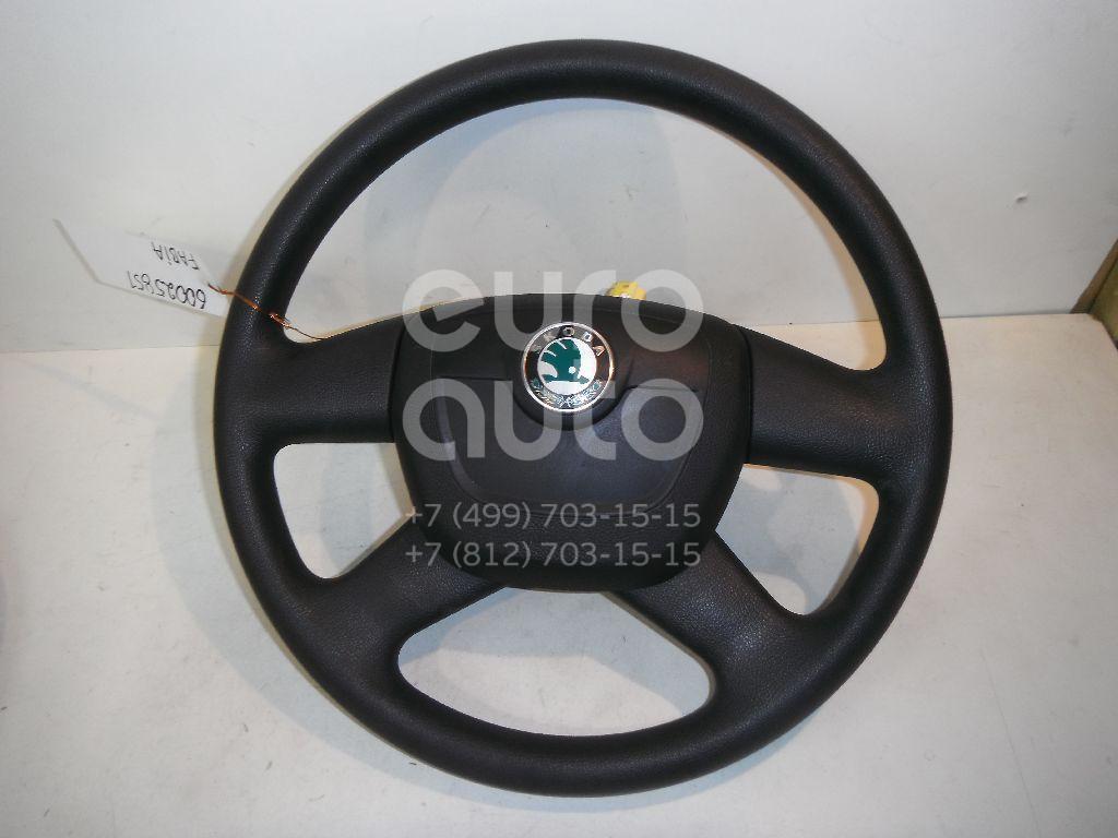 Рулевое колесо с AIR BAG для Skoda Fabia 2007-2015 - Фото №1