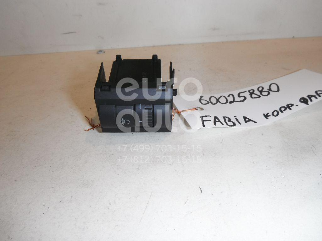Кнопка корректора фар для Skoda Fabia 2007-2015 - Фото №1
