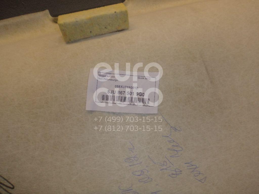 Обшивка потолка для Skoda Fabia 2007-2015 - Фото №1