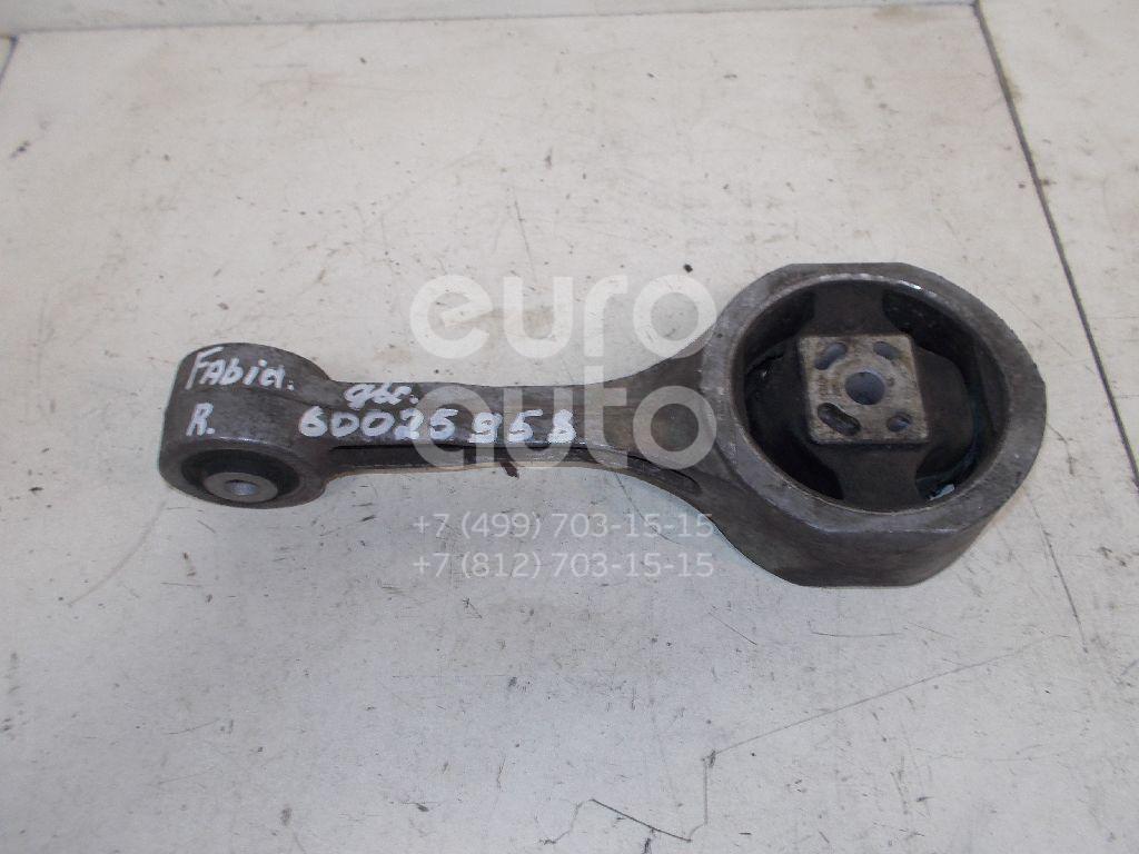 Опора двигателя задняя для Skoda,VW,Seat Fabia 2007-2015;Fabia 1999-2007;Polo 2001-2009;Ibiza V 2008>;Roomster 2006-2015;Cordoba 2002-2008;Ibiza IV 2002-2008;Polo (HB) 2009>;Fox 2005-2011 - Фото №1