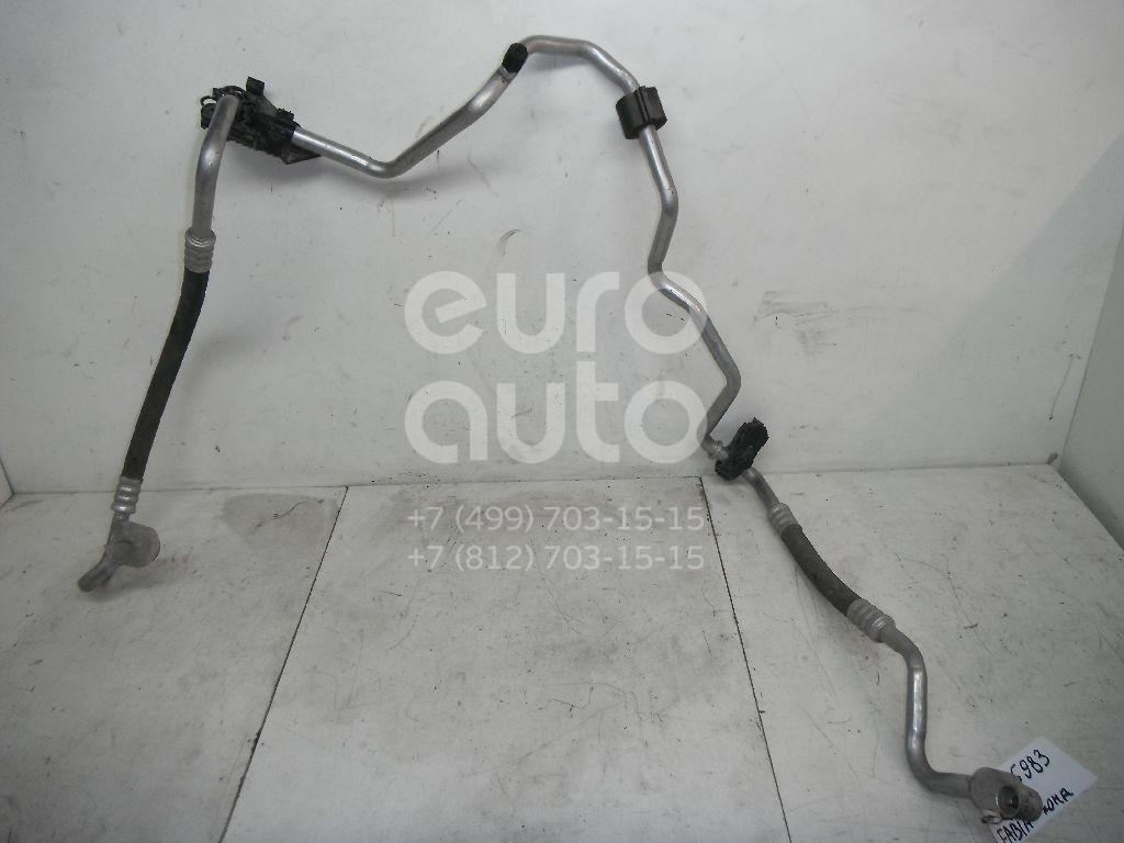 Трубка кондиционера для Skoda,Seat Fabia 2007-2015;Ibiza V 2008> - Фото №1