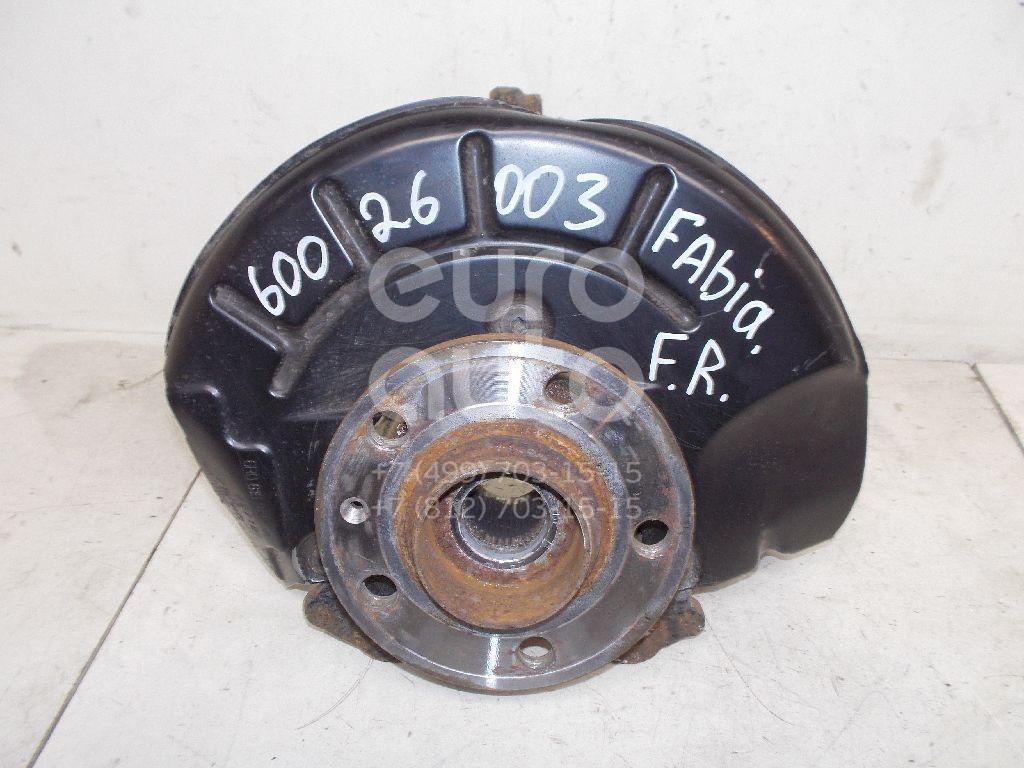 Кулак поворотный передний правый для Skoda,VW Fabia 2007-2015;Polo (Sed RUS) 2011> - Фото №1