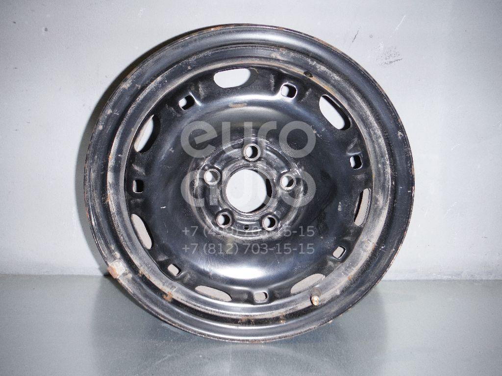 Диск колесный железо для Skoda Fabia 2007-2015;Roomster 2006-2015 - Фото №1