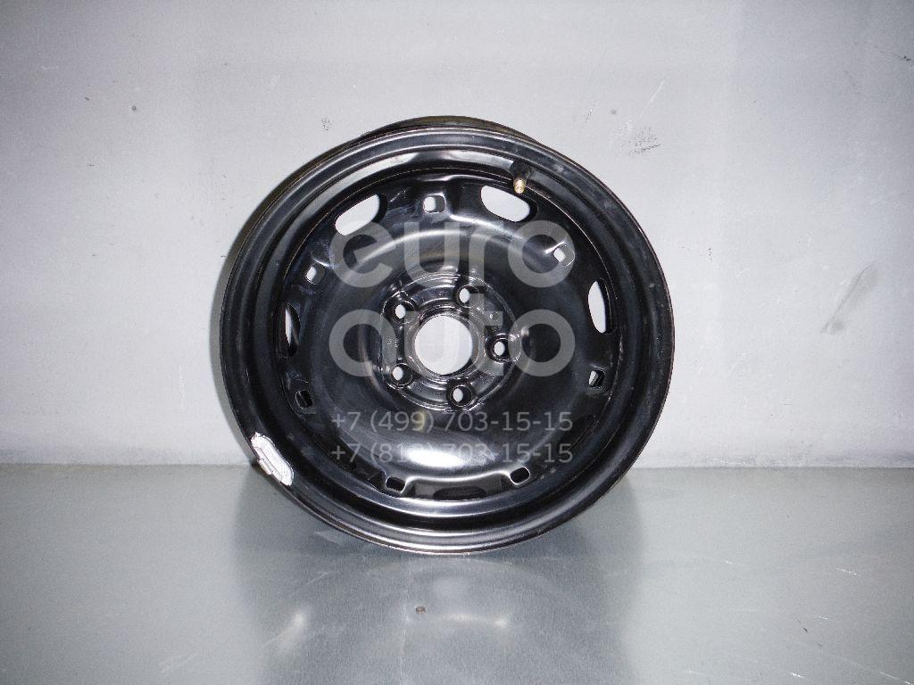 Диск колесный железо для Skoda Fabia 2007-2015;Roomster 2006> - Фото №1